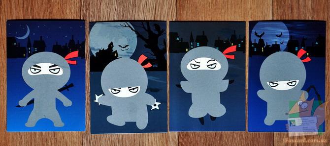 Набор открыток со стирающимися элементами
