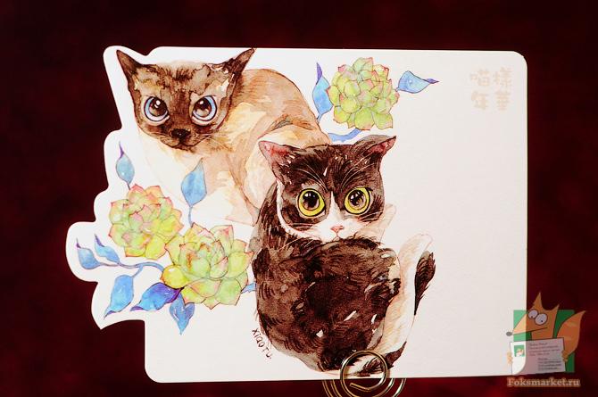 Фигурные кошки