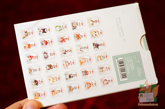 открытки кошки бирки