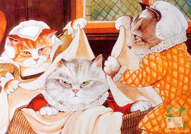 набор почтовых открыток - котры короли и королевы