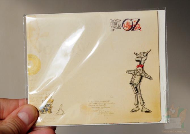 Конверт и открытка Алиса