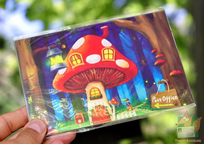 Набор открыток почтовый гриб