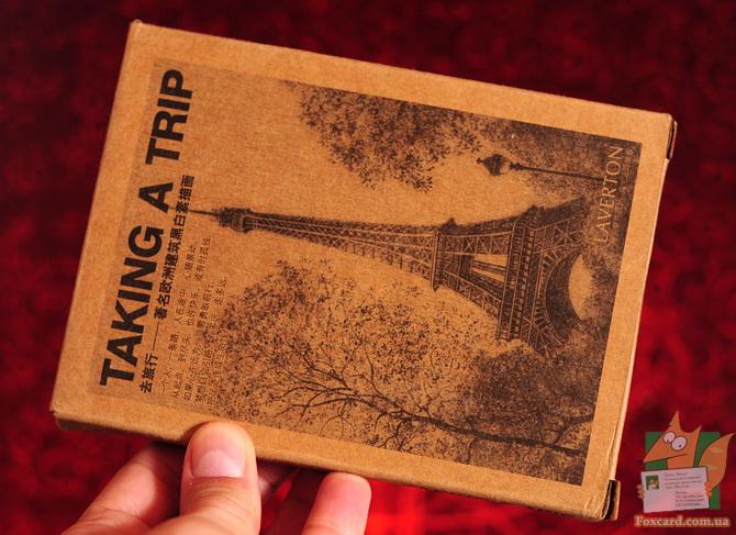 Почтовые открытки на крафт-картоне