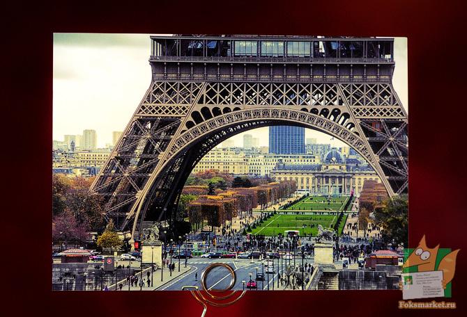 набор открыток Париж