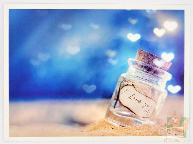 Любовный набор открыток Love