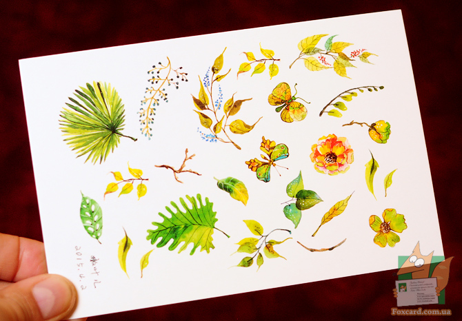 Набор почтовых открыток Nouvelles images