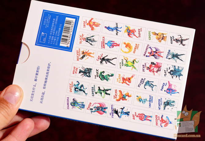 Набор открыток с супергероями