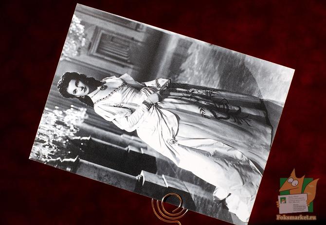 Набор почтовых открыток с актрисой Вивьен Ли Vivien Leigh