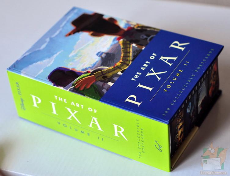 Открытки Pixar 2 - внешний вид коробки