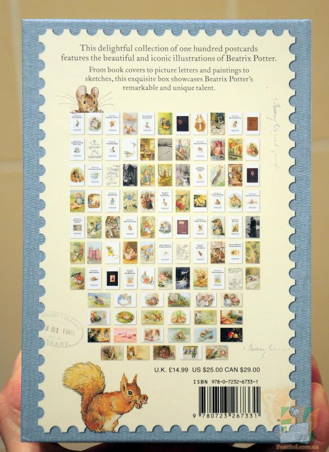 Набор почтовых открыток The World of Peter Rabbit от писательницы Беатрис Поттер