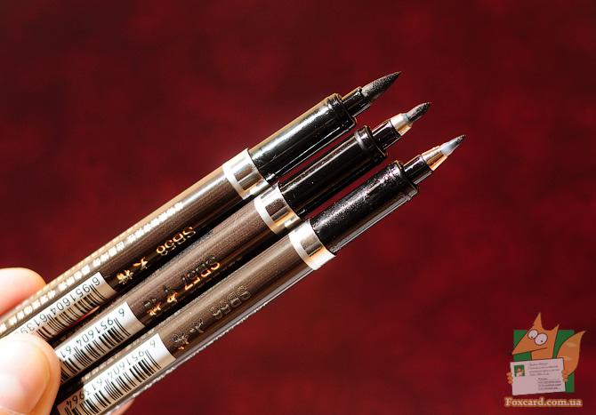 Ручка-кисть для каллиграфии и рисунка Sipa SB56, SB57, SB58