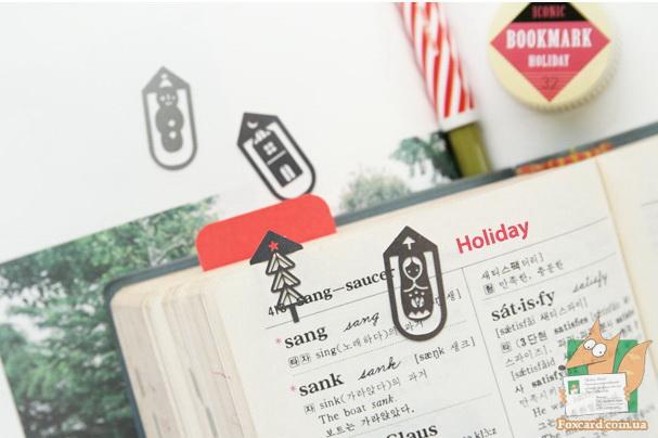 Закладки для книг Iconic holiday