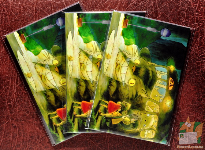 Набор почтовых открыток для посткроссеров - творчество Хаяо Миядзаки и студии Ghibli